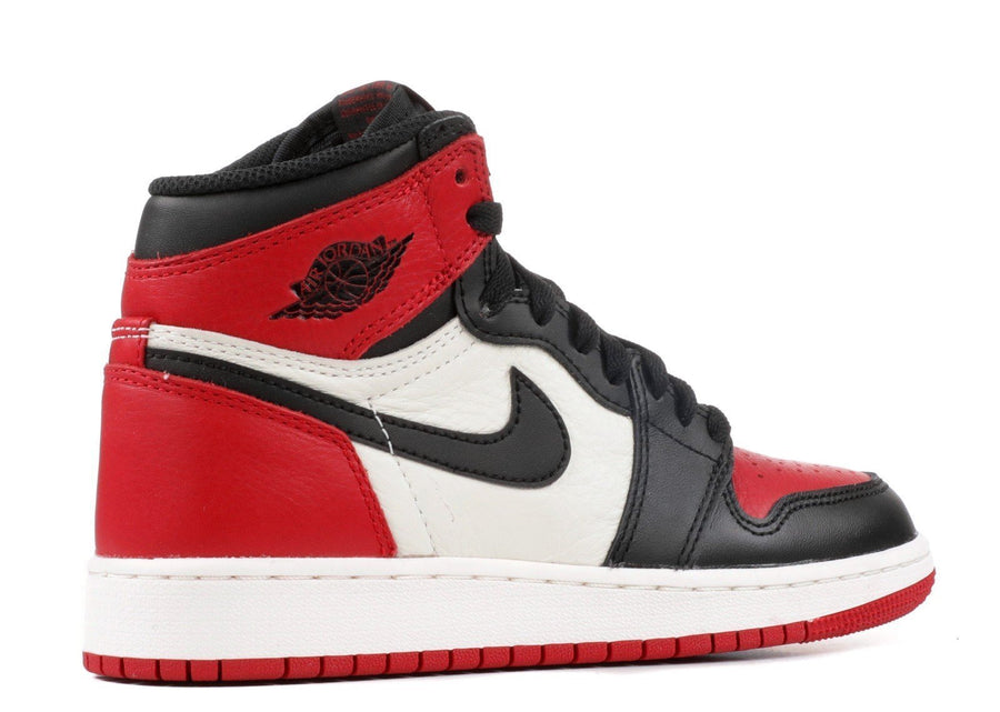 Jordan 1 Retro High Bred Toe (GS) Alternative View 2