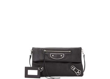 Balenciaga Crossbody Edge Envelope Black