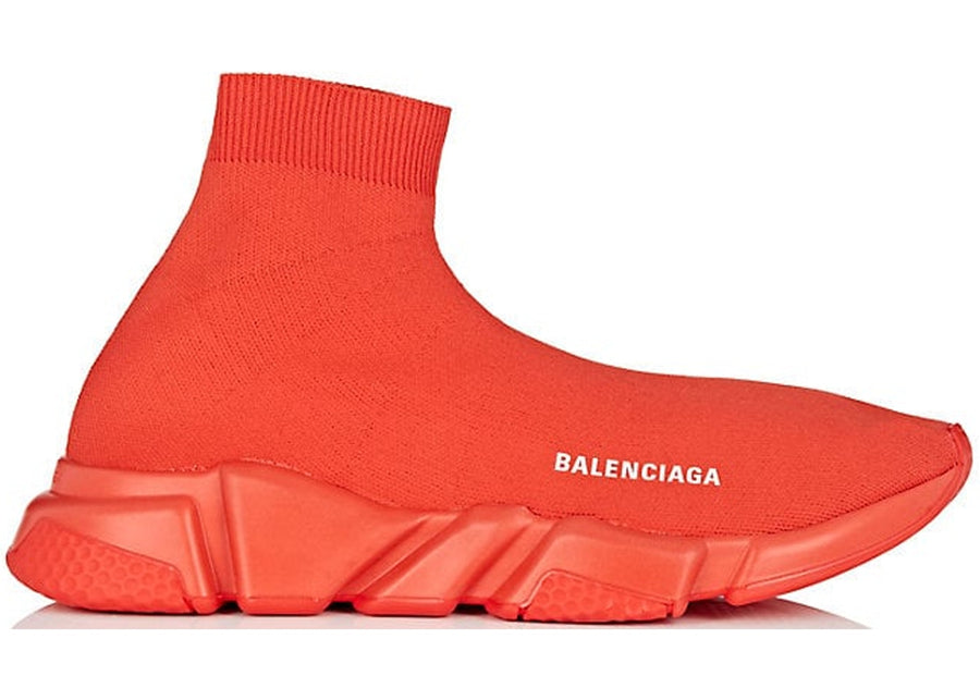 Authentic Balenciaga Speed Trainer Red