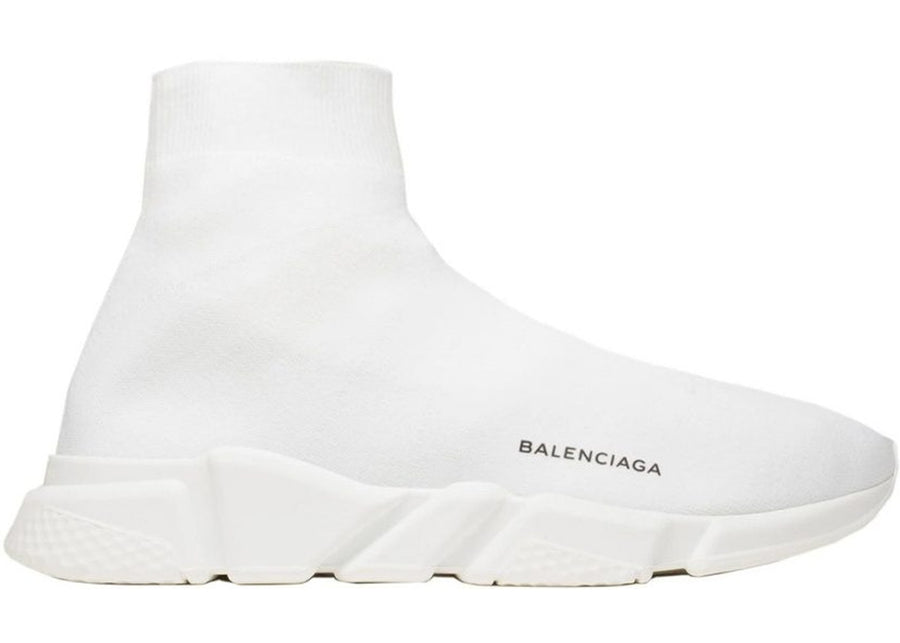 Authentic Balenciaga Speed Trainer White