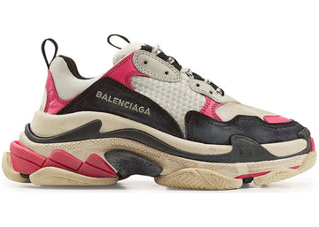 Authentic Balenciaga Triple S Black Pink (W)