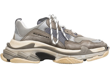 Authentic Balenciaga Triple S Grey (2018 Reissue)