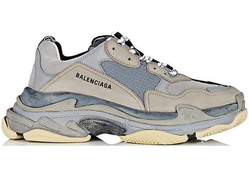 Authentic Balenciaga Triple S Split Black Grey