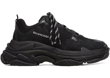Authentic Balenciaga Triple S Triple Black