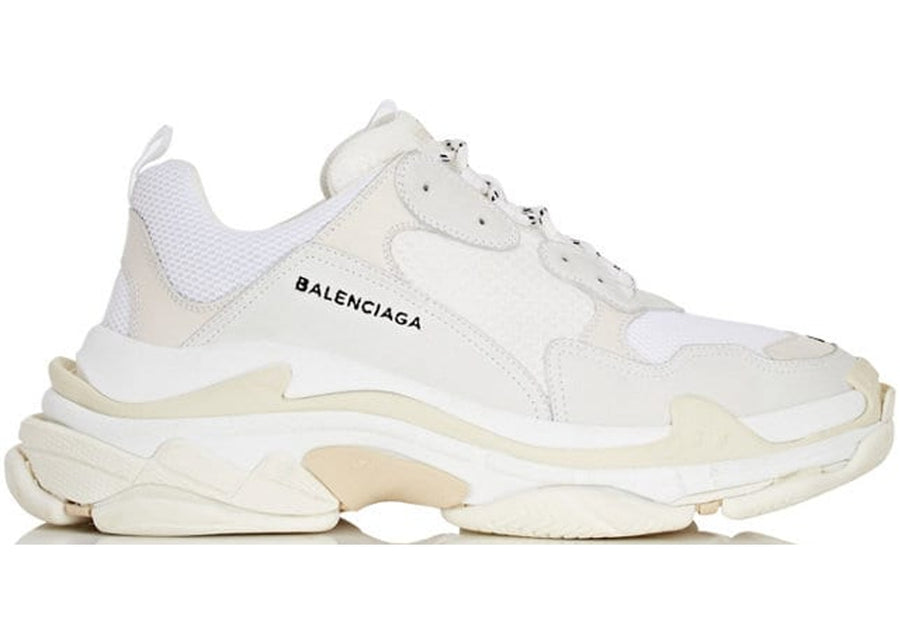 Authentic Balenciaga Triple S White (2018 Reissue)
