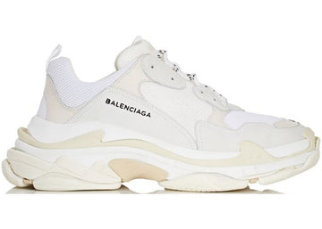 Authentic Balenciaga Triple S White