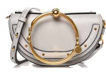 Chloe Minaudiere Nile Small Airy Grey