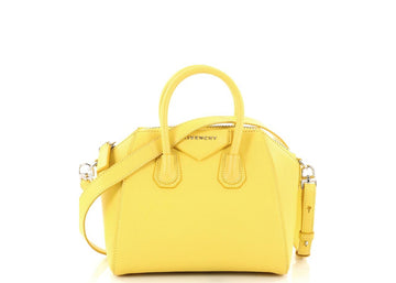 Givenchy Antigona Crossbody Mini Yellow
