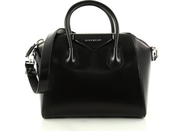 Givenchy Antigona Tote Glazed Small Black