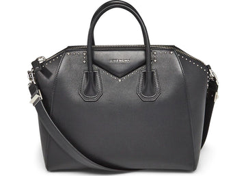 Givenchy Antigona Tote Studded Medium Black