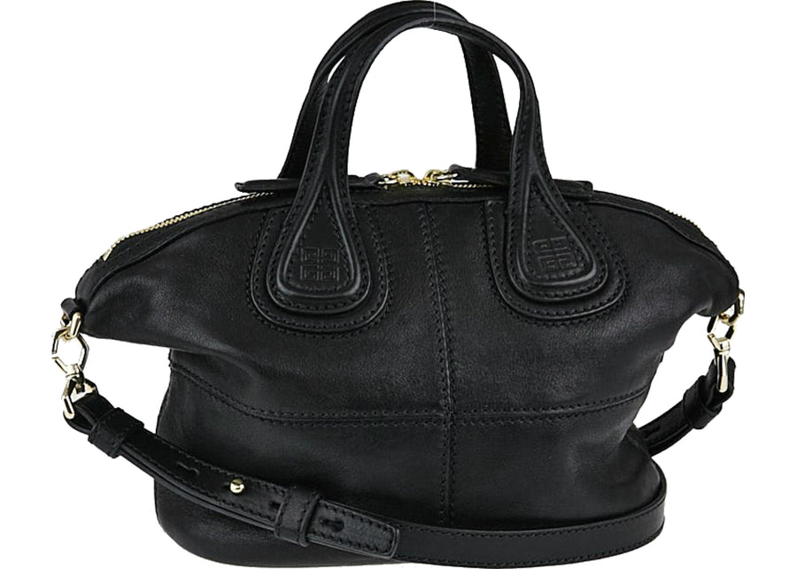 Givenchy Nightingale Tote Micro Black