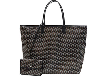 Authentic Goyard Saint Louis Tote Monogram XXL Black