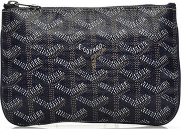 Authentic Goyard Senat Pochette Monogram Chevron Mini 1
