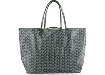 Authentic Goyard St. Louis Tote Monogram Chevron GM Green 2