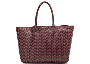 Authentic Goyard St. Louis Tote Monogram Chevron PM Bordeaux 1