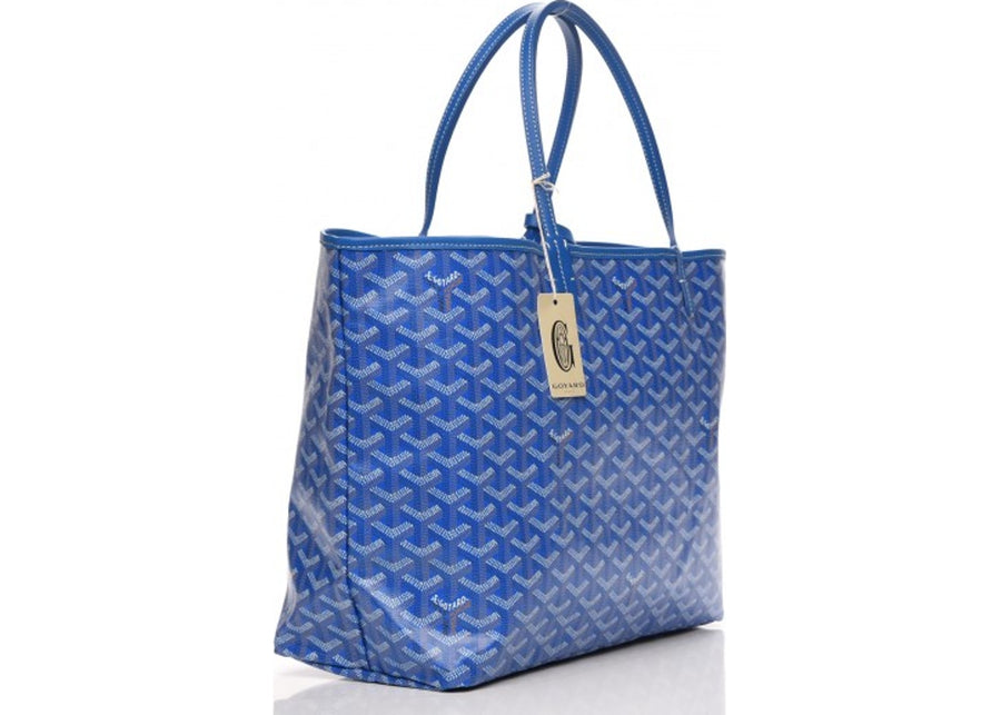 Authentic Goyard St. Louis Tote Monogram Chevron PM