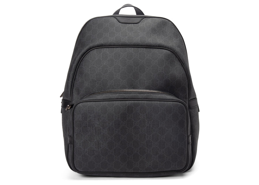Gucci GG Supreme Backpack Monogram GG Medium Black