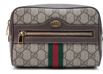 Gucci Belt Bag Ophidia Monogram GG Supreme Small Brown