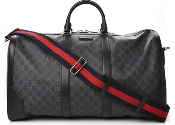 Gucci Carry On Duffle Monogram GG Supreme Black