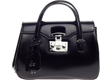Gucci Lady Lock Satchel Black