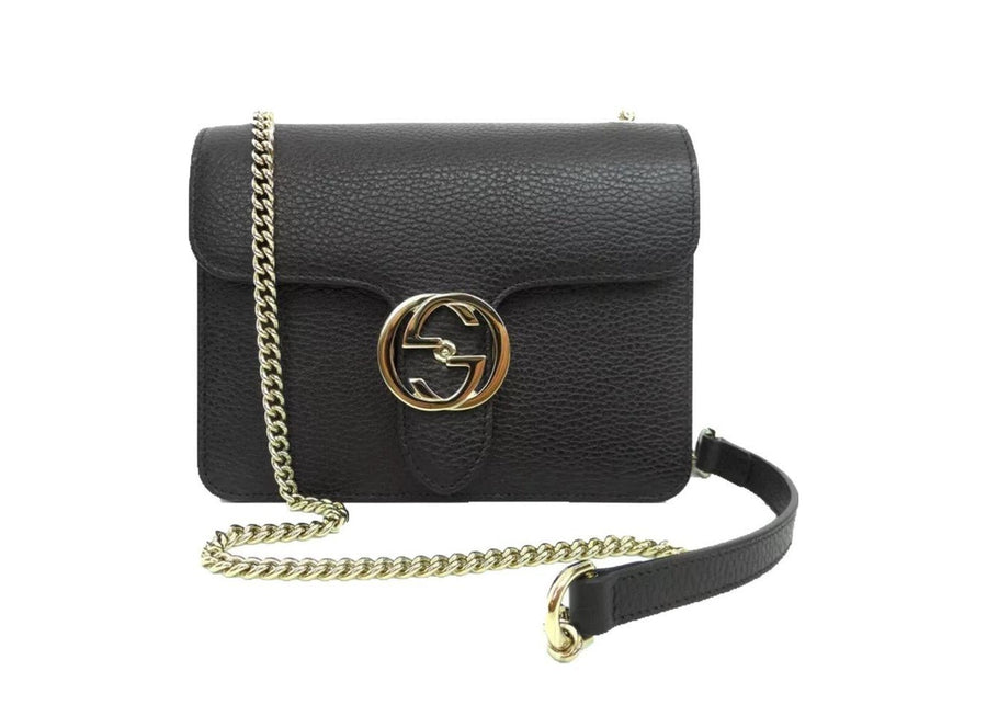 Gucci Crossbody Interlocking GG Black