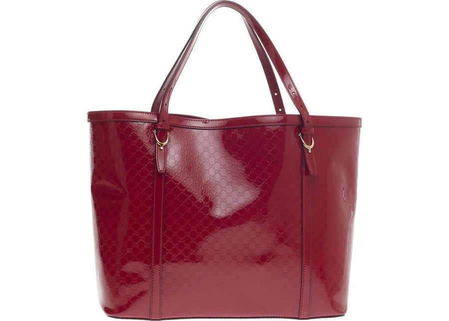 Gucci Nice Tote Microguccissima Medium Red