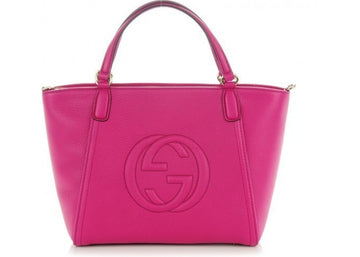 Gucci Soho Shoulder Bright Bougainvillea