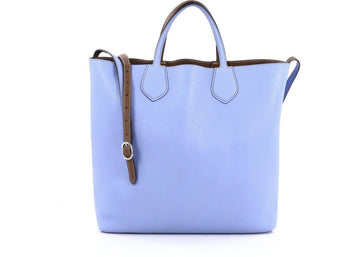 Gucci Ramble Tote Large Sky Blue/Brown