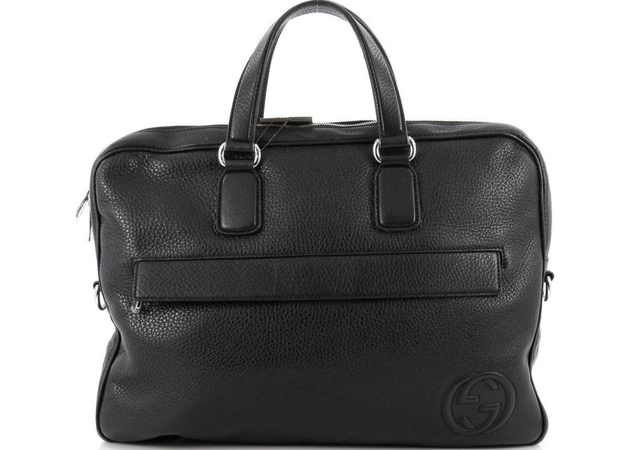 Gucci Soho Briefcase Black