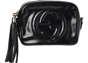 Gucci Soho Disco Patent Leather Small Black