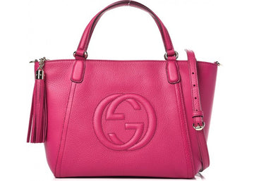 Gucci Soho Top Handle Small Bougainvillea