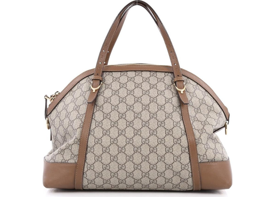 Gucci Nice Top Handle GG Monogram Large Brown