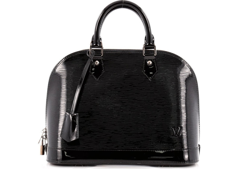Louis Vuitton Alma Epi Electric PM Black