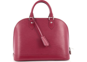 Louis Vuitton Alma Epi PM Fuchsia
