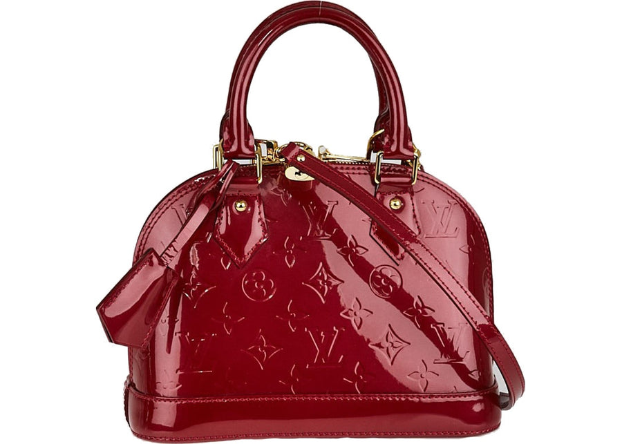 Louis Vuitton Alma Monogram Vernis BB Pomme D'Amour