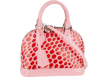 Louis Vuitton Alma Monogram Vernis Jungle BB Pink
