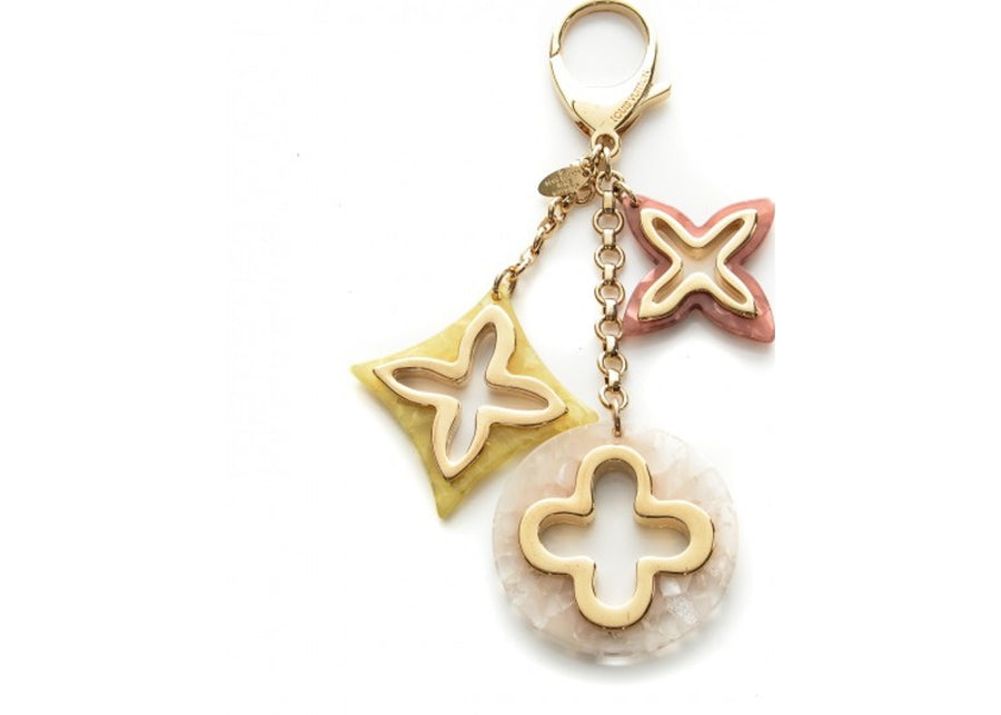 Louis Vuitton Bag Charm Insolence Pink/Yellow/White