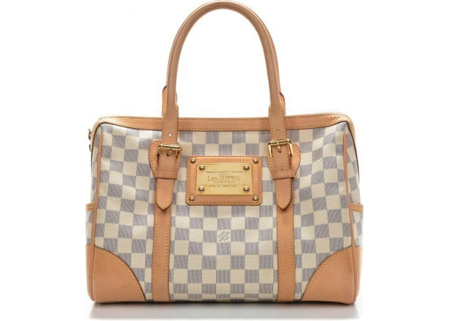 Louis Vuitton Handbag Berkeley Damier Azur Ivorie/Grey