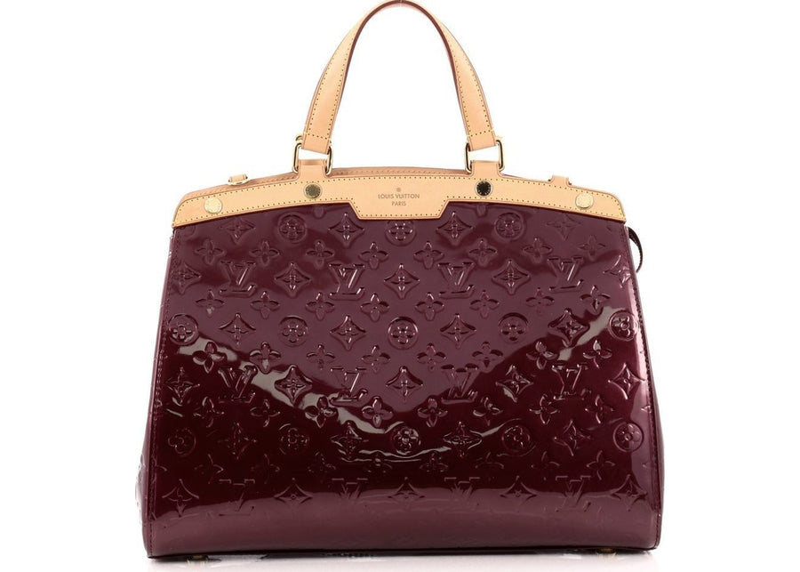 Louis Vuitton Brea Monogram Vernis GM Rouge Fauviste
