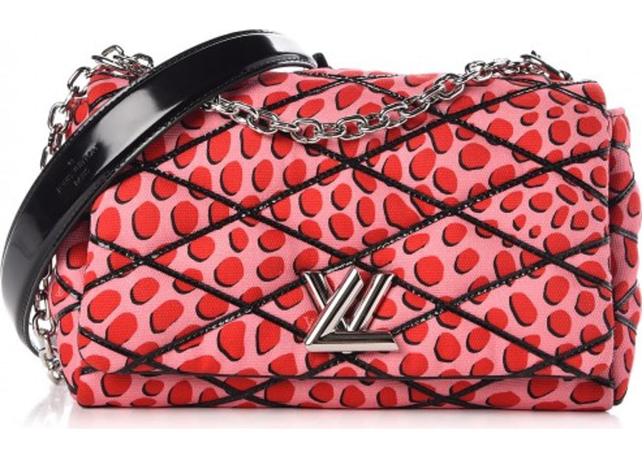 Louis Vuitton Crossbody GO-14 Malletage Jungle Dots PM Sugar Pink Poppy