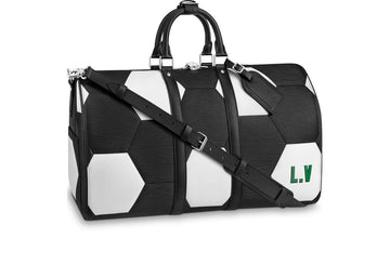Louis Vuitton Keepall Bandouliere Hexagonal FIFA World Cup 50 Noir