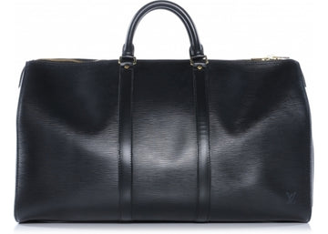 Louis Vuitton Keepall Epi 50 Black