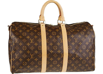 Louis Vuitton Keepall Monogram 45 Brown
