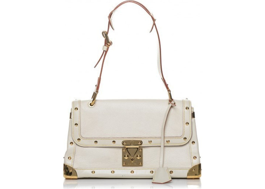 Louis Vuitton Shoulder Le Talentueux Suhali Blanc White