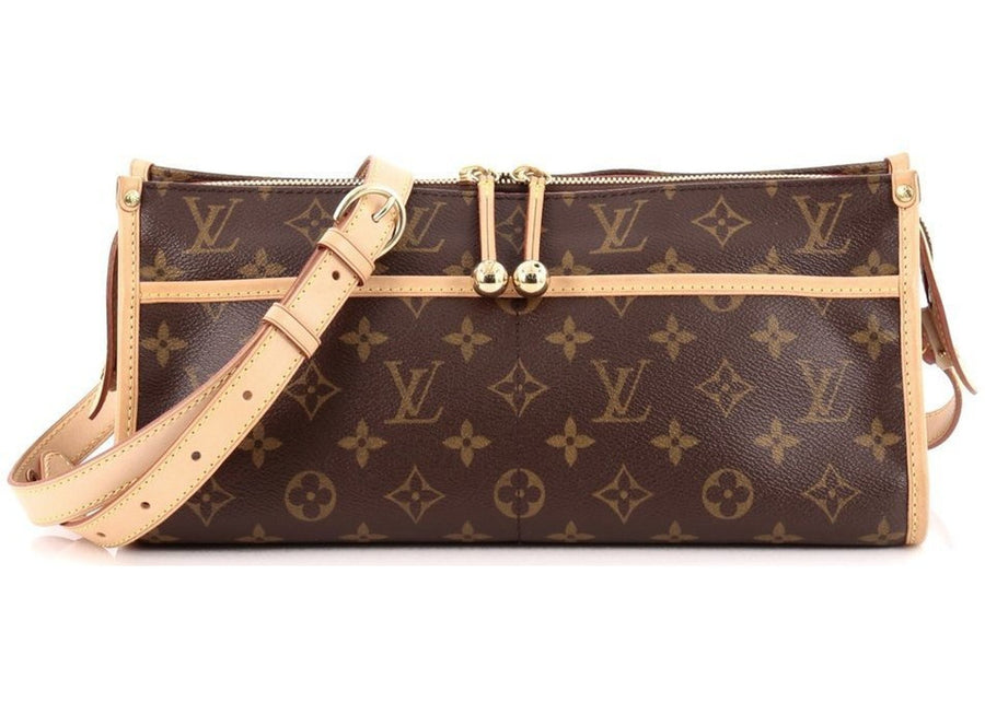 Louis Vuitton Popincourt Long Monogram Brown