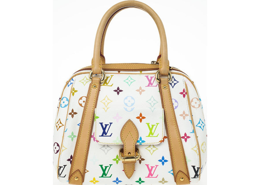 Louis Vuitton Priscilla Monogram Multicolore White