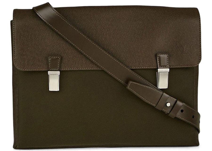 Louis Vuitton Messenger Saratov Taiga Grizzli Taiga GM Brown