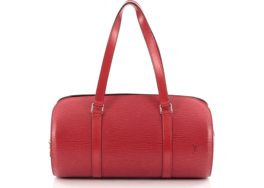Louis Vuitton Soufflot Epi Rouge