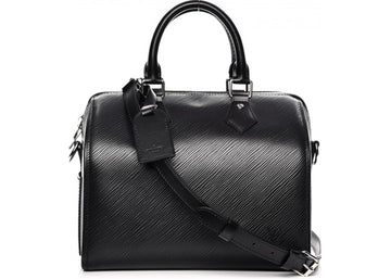 Louis Vuitton Speedy Bandouliere Epi (With Accessories) 25 Black