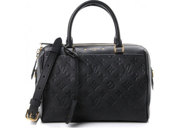 Louis Vuitton Speedy Bandouliere NM Monogram Empreinte (With Accessories) 25 Black